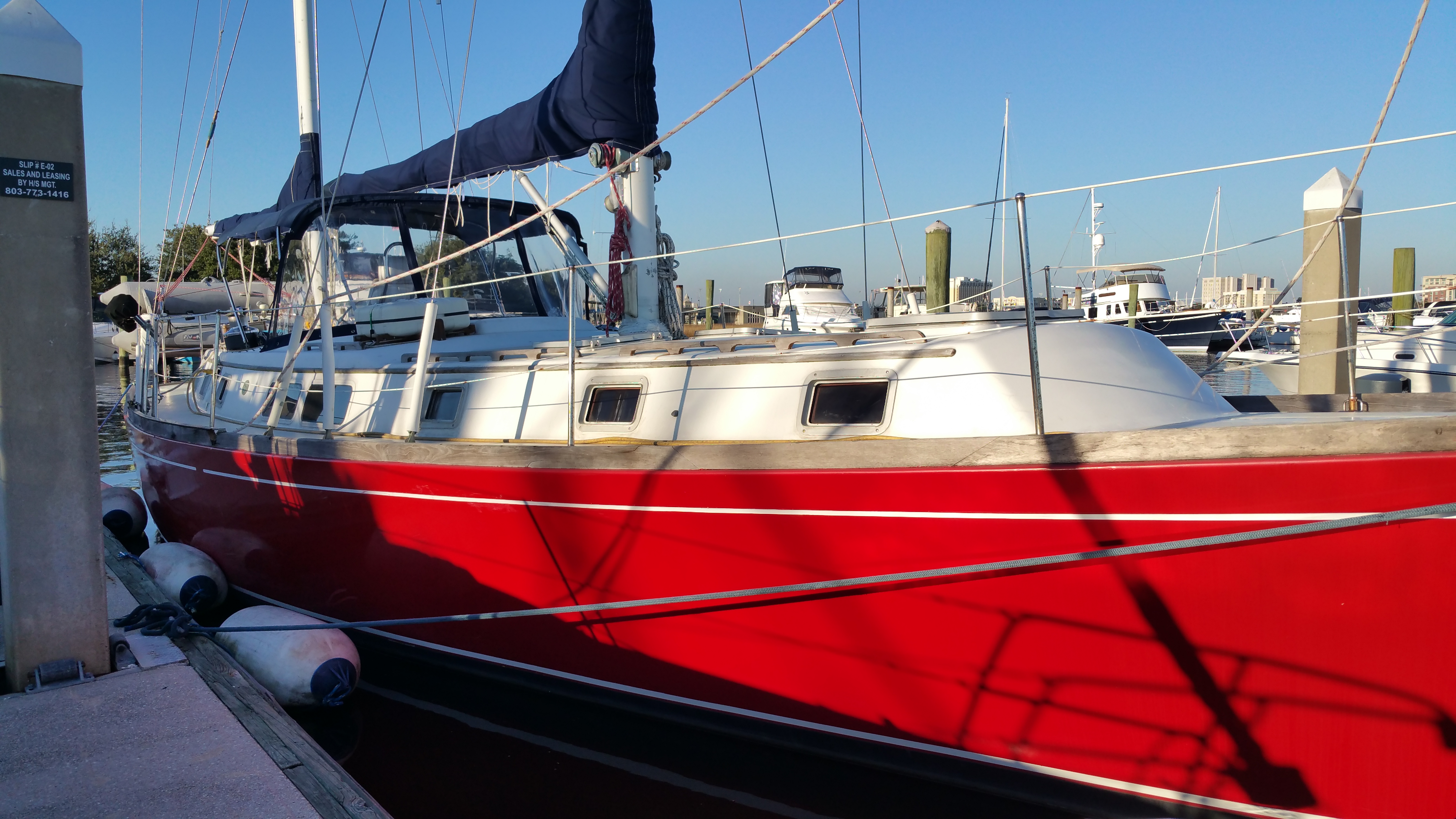 Private Charter - Gulfstar 50 Sailboat