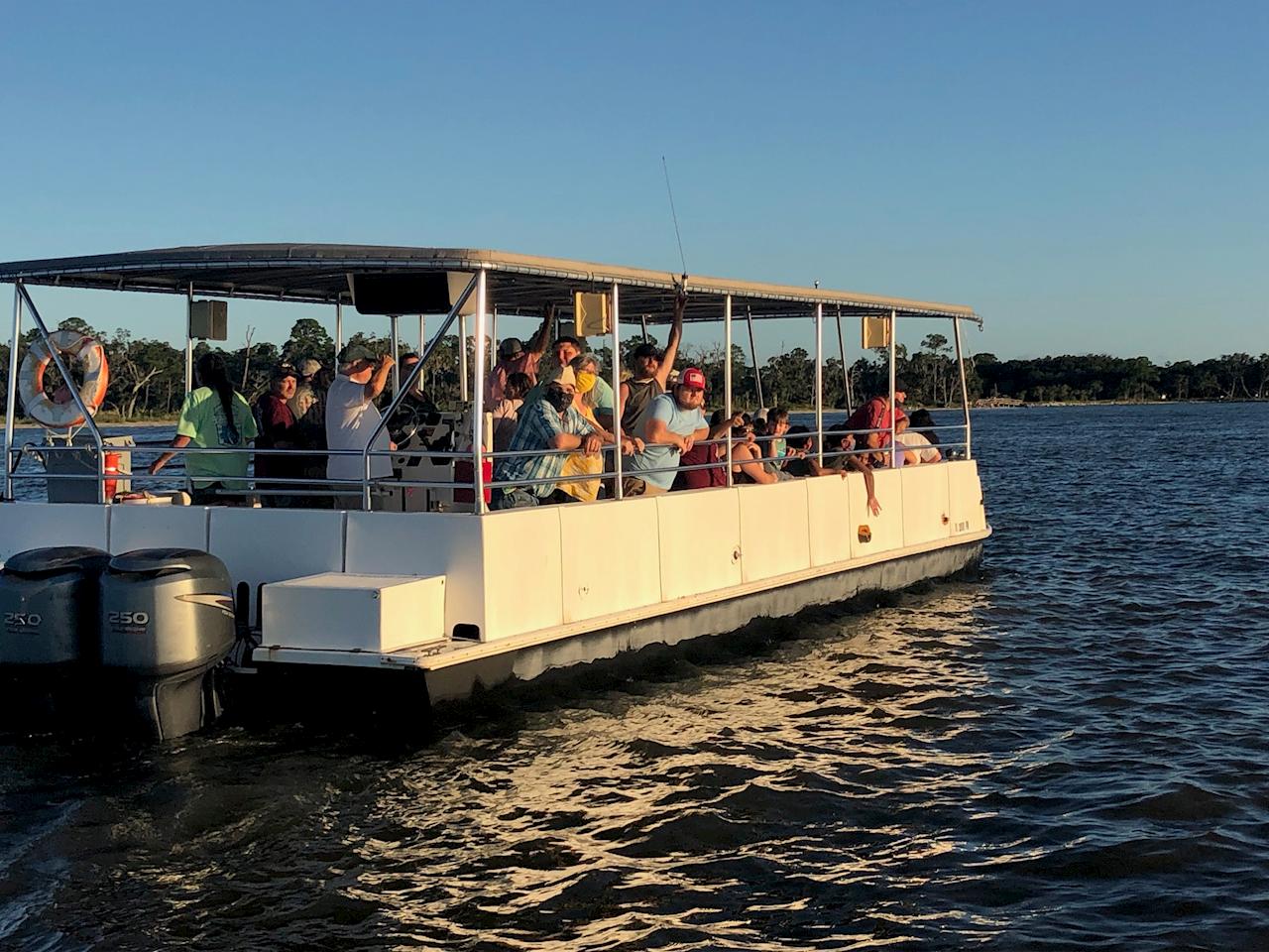St. Simons Dolphin Boat Tour