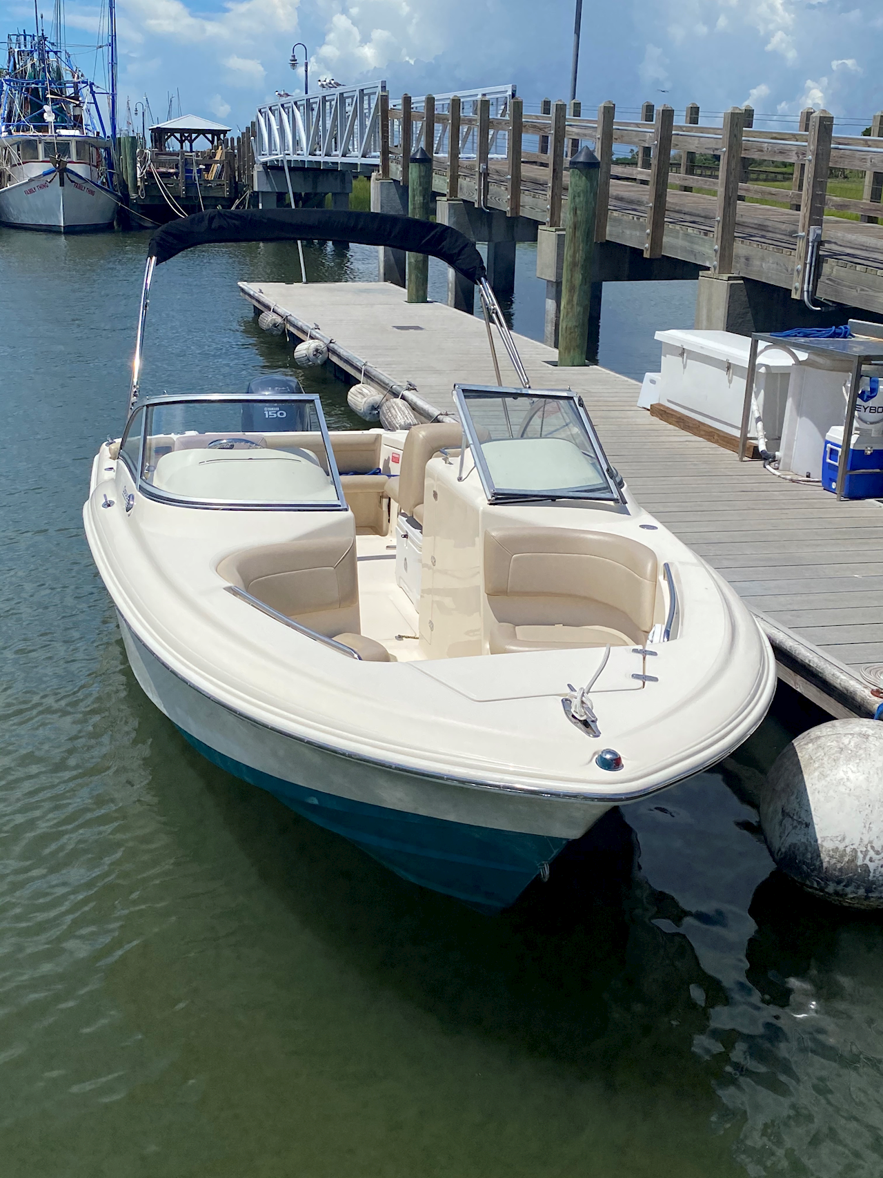 22' Dual Console Rental 2
