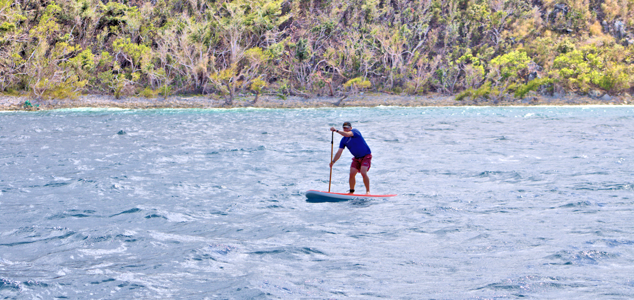 Epic SUP Downwinder