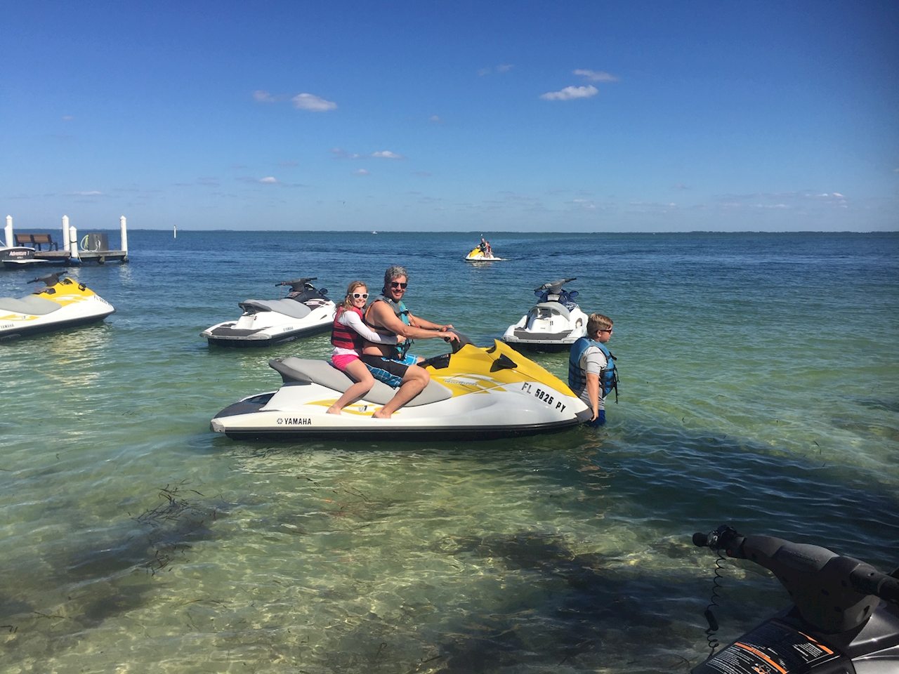 Cayo Costa Waverunner Tour