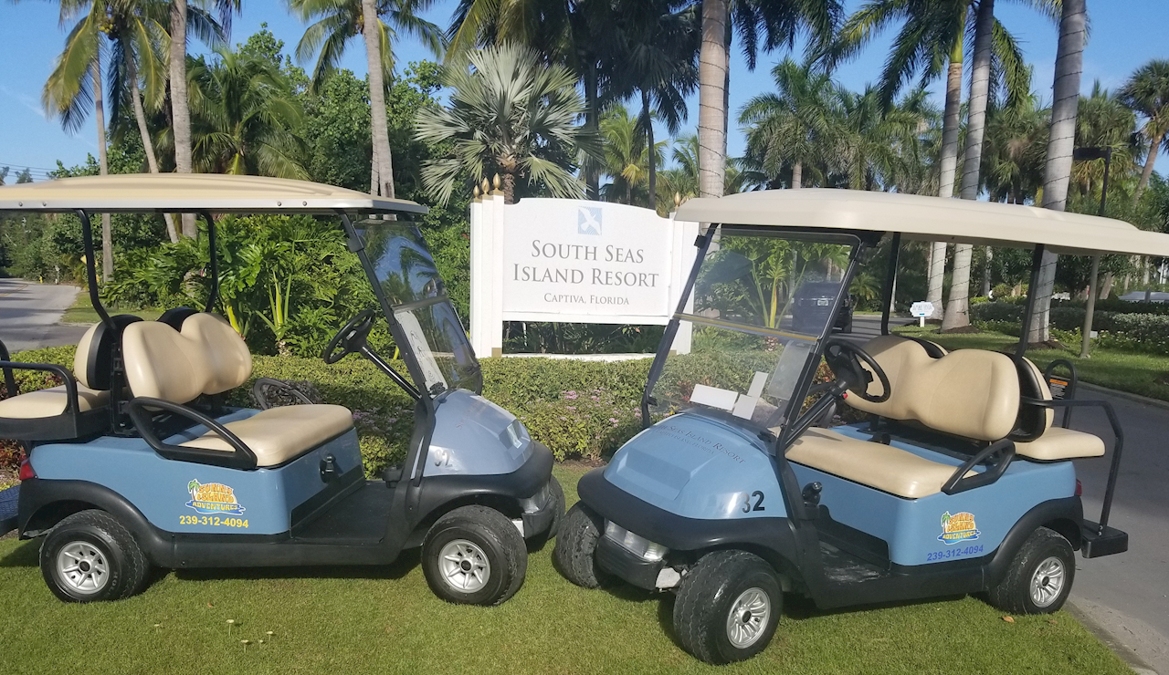 4 Passenger Golf Cart Rentals