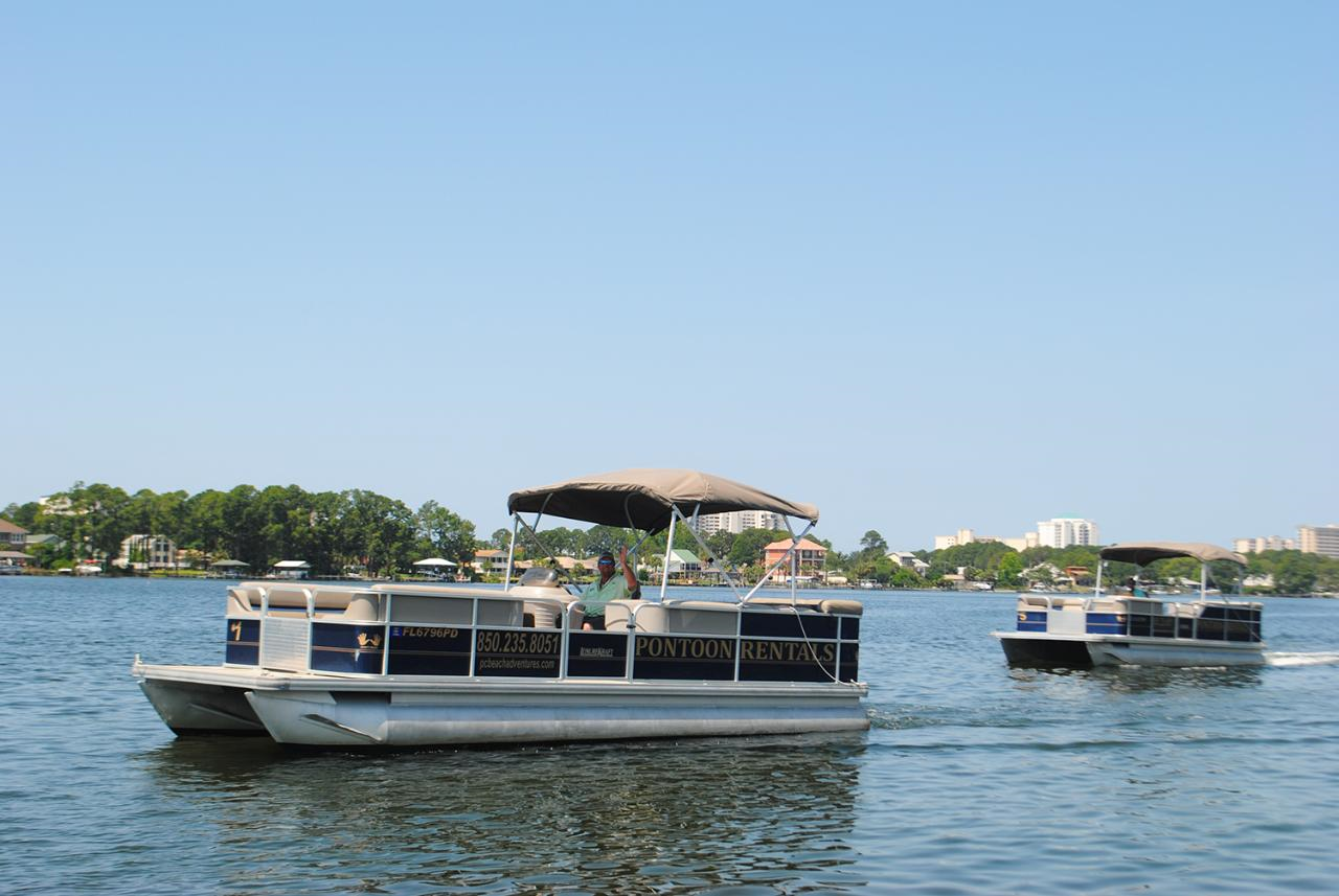 Full Day Pontoon Rental