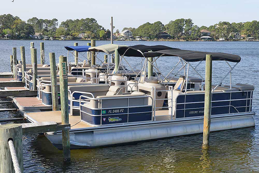 Half-Day Pontoon Rental