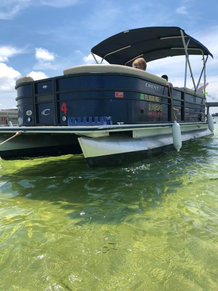 Full Day Pontoon Boat Rental